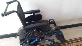 Se vende silla de rueda eléctrica marca invacare