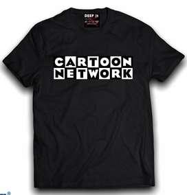 Camisetas estampadas 100% algodón
