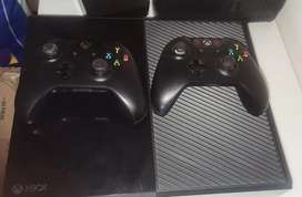 Xbox ONE modelo 1540, 500gb, kinect, 2 controles