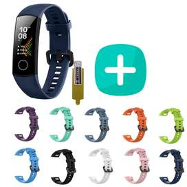 Combo Huawei Honor Band 5 + 1 Correa Silicone + Protector