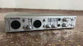 Tarjeta de sonido / Interface de audio M-Audio FireWire 410