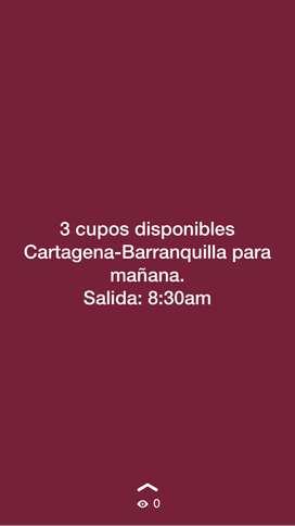 Viaje Cartagena-Barranquilla
