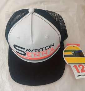 Vendo gorras Ayrton Senna nuevas y originales