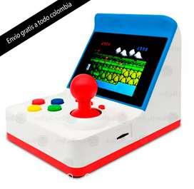 Mini consola portátil juegos retro arcade clásicos a retro maquinita