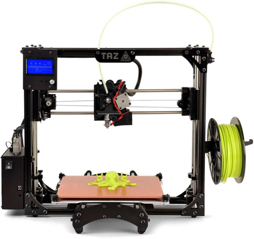 Impresora 3D LulzBot Taz 5 + extrusor doble 0