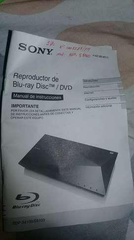 Vendo reproductor Blo-ray sony