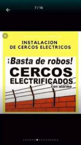 Se instalan cerco electricos