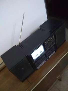 Vendo minicomponente con TV