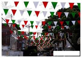 Festones Tricolor