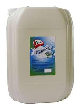 Lavaloza líquido limón 20 litros