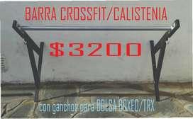 BARRA CROSSFIT/CALISTENIA