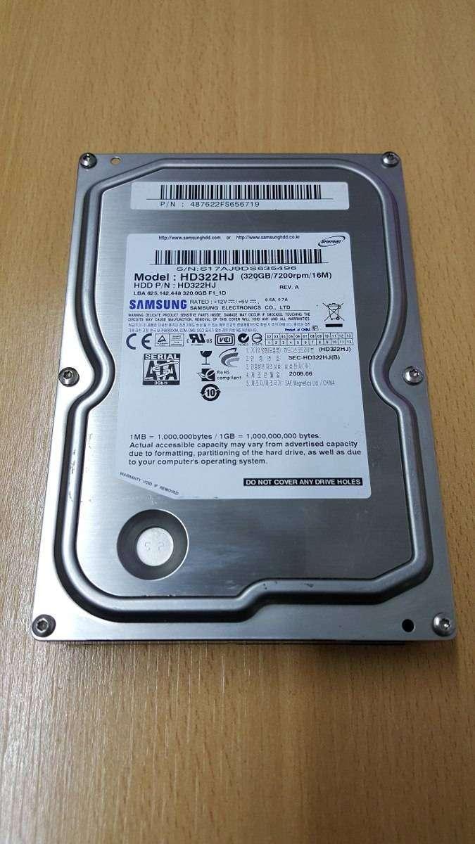 Vendo Dos discos de 320gb y uno de 250gb 0