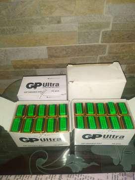 Pilas cuadradas Gp Ultra Alkaline No Recargables