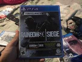 Rainbow six siege con código sin usar
