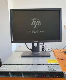 Servidor Hp Proliat 360 Dual Xeon