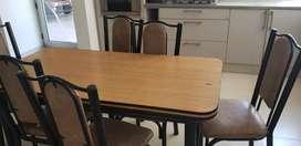 Juego de mesa y sillas para cocina