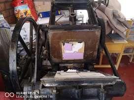 Troqueladora y Maquina para foil hot stamping