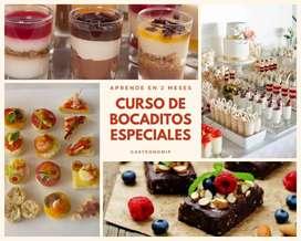 CURSO DE BOCADITOS ESPECIALES