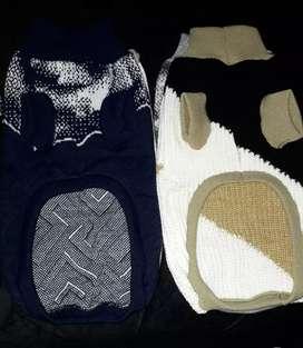 Abrigo de lana para  mascota