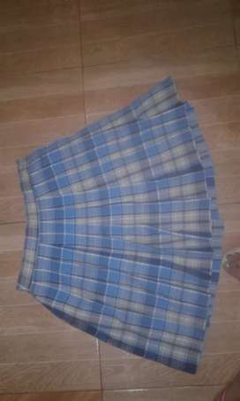 Falda de colegio