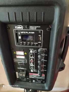 Se vende cabina de sonido marca kalley