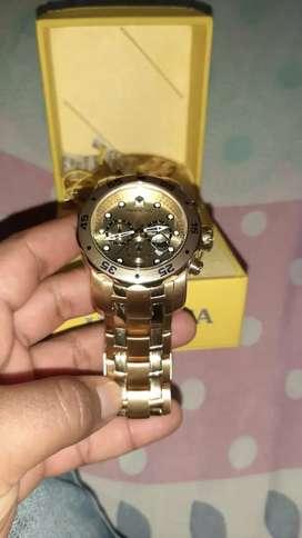 Reloj invicta ref 0074 2 meses de uso