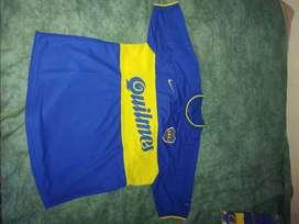 Camiseta Boca Jr Reedicion 2000