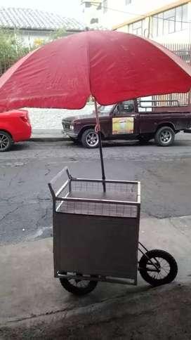 Carrito de trabajo 3 ruedas