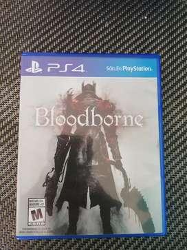Vendo o Cambio Juego ps4 Bloodborne