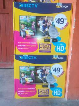 Kit Directv Prepago en Hd