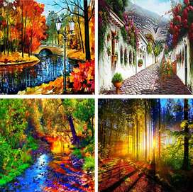 Paisajes Lienzo Lienzografías 60x90 Cuadros Impresión Arte