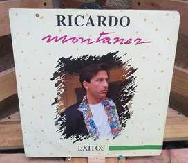 vinilo long play lp dísco acetato pasta vinyl discos Ricardo Montaner exitos