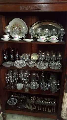Cristal bohemia y murano antiguo de coleccion