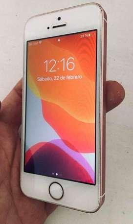 iPhone SE Rosa 16gb Liberado Y Con Icloud Por Configurar