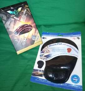 combo Mouse gamer y pad mouse