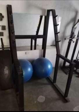 Vendo porta barras para trabajar piernas