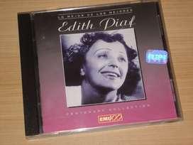 Cd Edith Piaf - Lo Mejor De Lo Mejor (1993) Emi