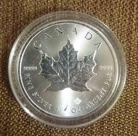 Moneda Plata Canada 1oz - 2017