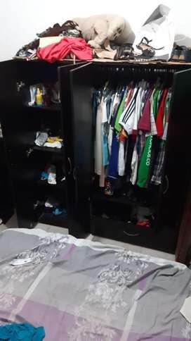 Closet Armable Mecedoras Y Cama. Combo