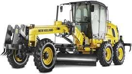 Tractor Moto niveladora New Holland RG140 B