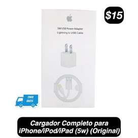 Cargador Completo (5w)(iPhone/iPod/iPad)