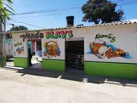Vendo tienda barrio santana