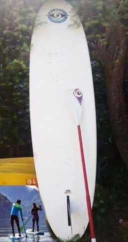 tabla de surfcon remo y pita DURA TEC