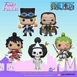 Funko Pop One Piece Luffy Zoro Brook Etc