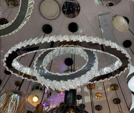 Lámpara de colgante de cristal
