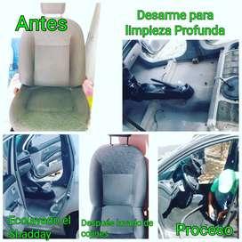 Servicio a domicilio de limpieza de casas, oficinad y vehiculos