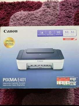 Vendo Impresora Canon PIXMA E401
