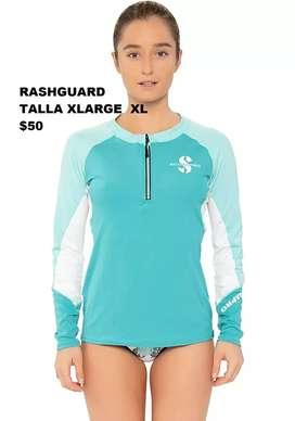 Rashguard Lycra Buso de Baño Scubapro Talla XLarge  XL