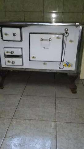 Cocina a leña