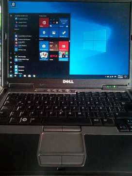 Portatil Dell D630 Windows10, 500Gb HD
